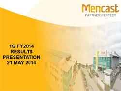 1Q FY2014 Results Presentation